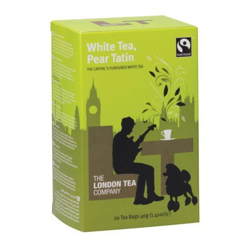 London Tea Pear Tatin White Tea (Pack of 20) FLT19154