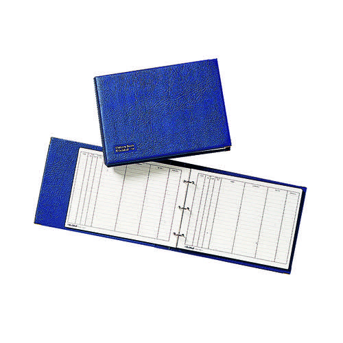 Guildhall Blue Visitors Book Loose T40