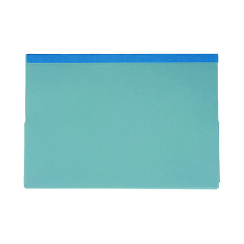 Guildhall Blue Reinforced Double Legal Pocket Wallet (Pack of 25) 218-BLU
