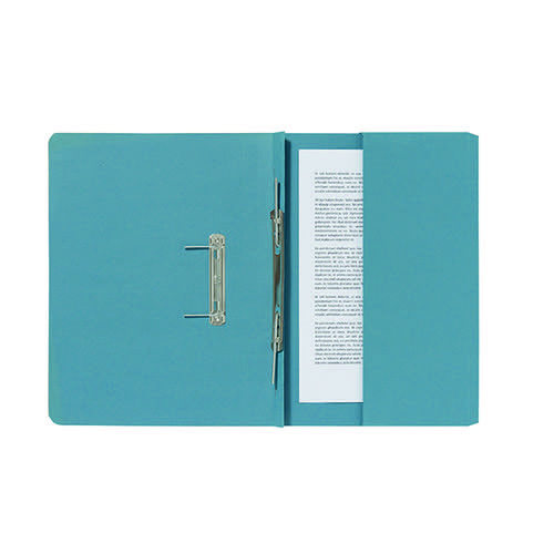 Guildhall Blue Pocket Spiral File (Pack of 25) 347-BLUZ