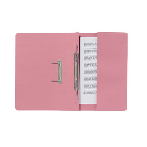 Guildhall Pink Pocket Spiral File (Pack of 25) 347-PNKZ