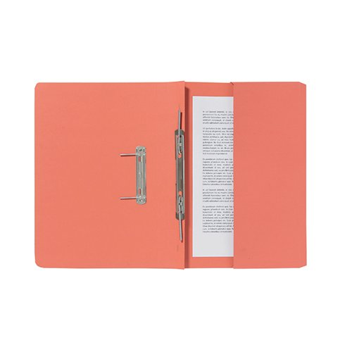 Guildhall Orange Pocket Spiral File (Pack of 25) 347-ORGZ