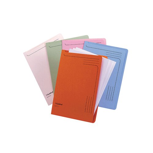 Guildhall Slipfile Assorted (Pack of 50) 4600Z