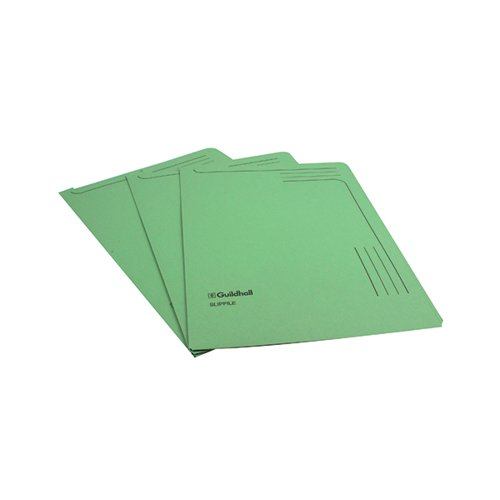 Guildhall Green Slipfile (Pack of 50) 4603Z