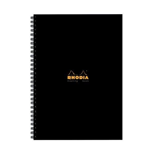 Rhodia Hardback A4 Meeting Book Pk3
