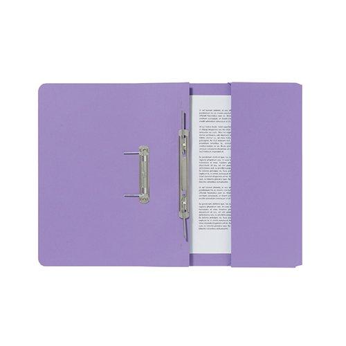 Guildhall Mauve Pocket Spiral File (Pack of 25) 347-VLTZ