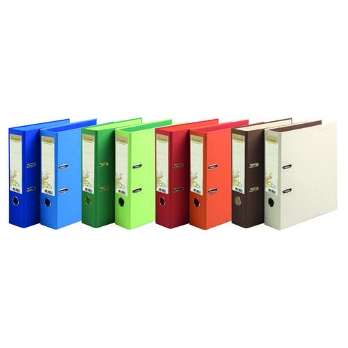 Forever PremTouch Lever Arch File A4 80mm Assorted BX10