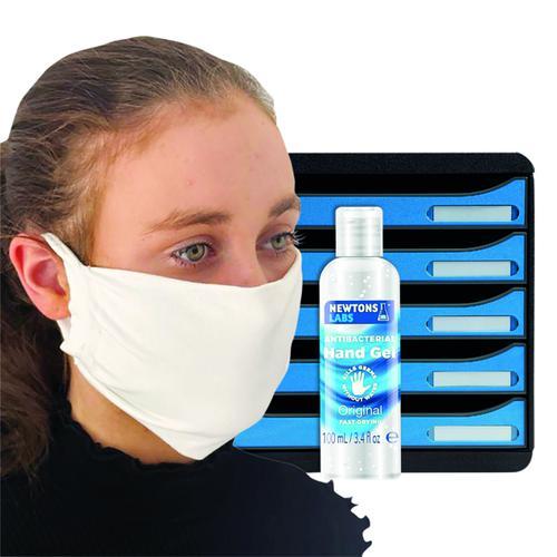 Exacompta Big Box 5 Drawer FOC Antibac Hand Gel 100ml & Mask GH811518