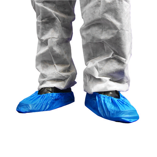 Shield OverShoes 14in Pk2000 Blue Df01