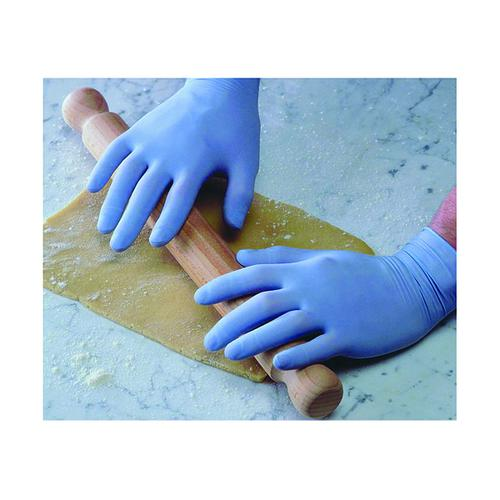 Shield Powder-Free Blue Small Latex Gloves (Pack of 100) GD40