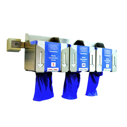 SafeDon Holder for Wall Rail (Pack of 3) SDD003