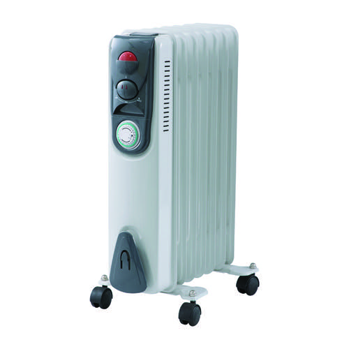 1.5kw Oil Filled Radiator with Timer CR15T