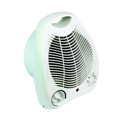 Fan Heater Upright 2kW White HID52553