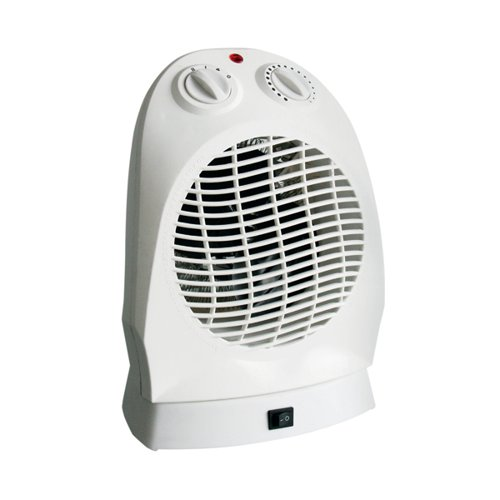 CED 2000W Upright Fan Heater with Oscillation FH20AN