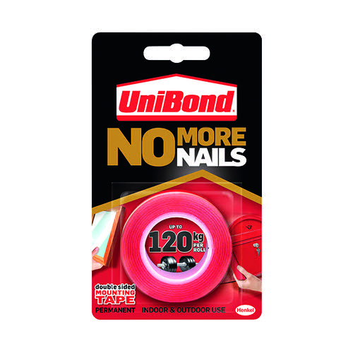 Unibond No More Nails Ultra Strong Roll Permanent 19mmx1.5m 781746