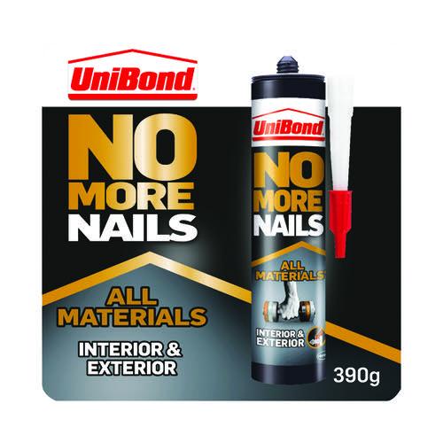 No More Nails Interior/Exterior Grab Adhesive Cartridge 390g 2492850