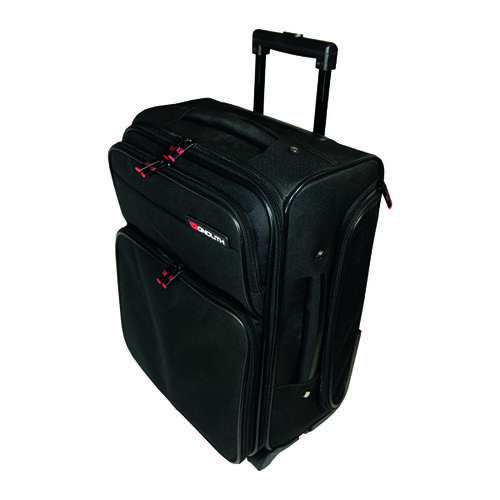 Monolith Wheeled Overnight Laptop Case w/Removable Case Black 1329