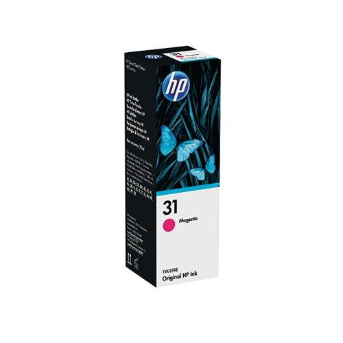 HP 1VU27AE 31 Magenta Ink Bottle 8K