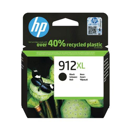 HP 912XL High Yield Ink Cartridge Black 9.9ml 3YL84AE