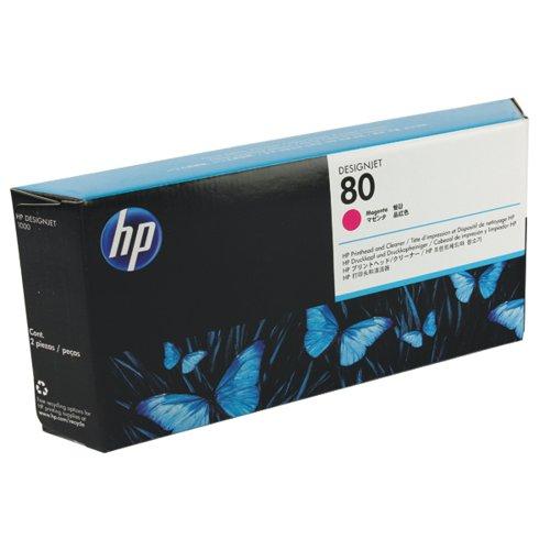 HP 80 Magenta Printhead/Cleaner C4822A