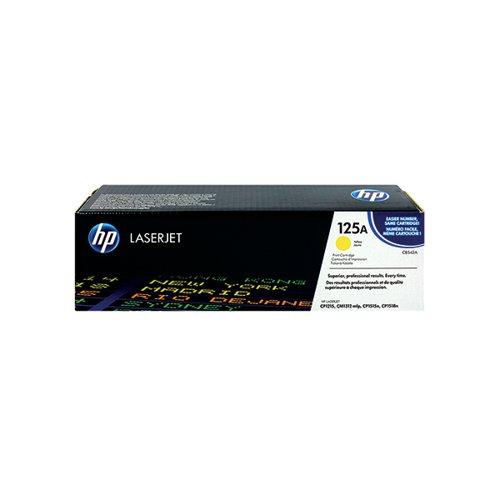 HP 125A Yellow Laserjet Toner Cartridge CB542A
