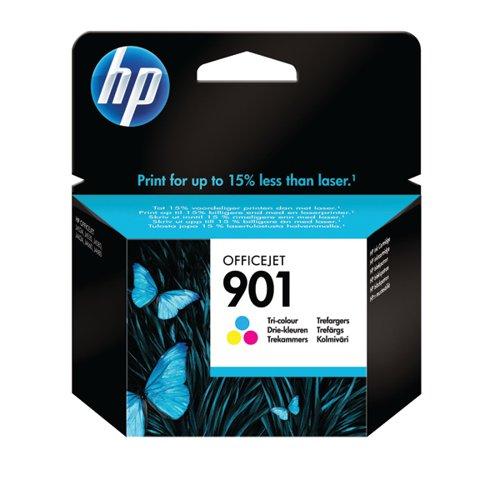 HP 901 Cyan/Magenta/Yellow Inkjet Cartridge CC656AE