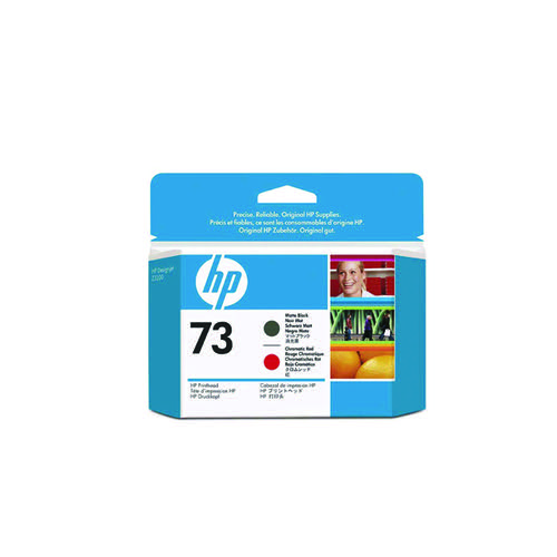 HP 73 Matte Black /Red Printhead CD949A