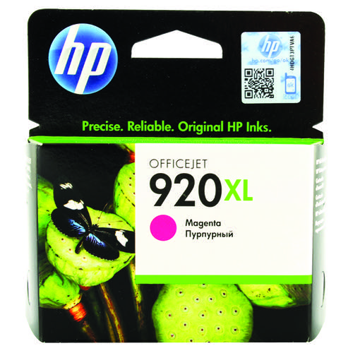 HP 920XL High Yield Magenta Ink Cartridge (700 page capacity) CD973AE