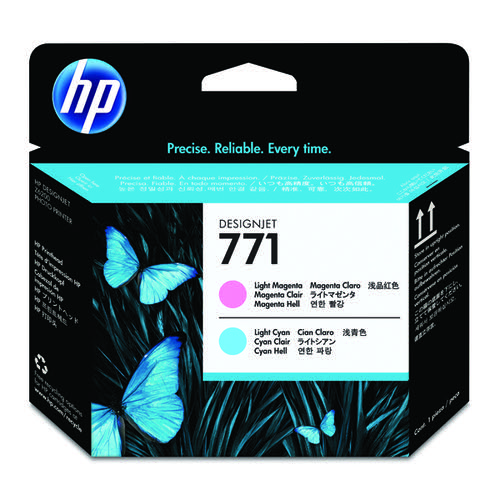 HP 771 Light Magenta/Light Cyan Designjet Printhead CE019A