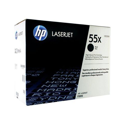 HP 55X Black High Yield Laserjet Toner Cartridge CE255X