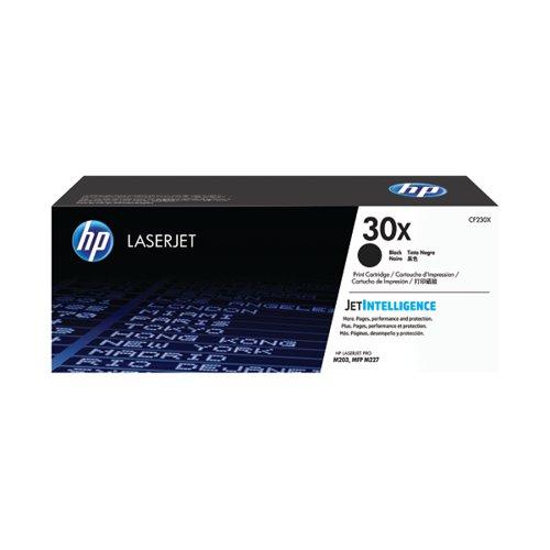 HP 30X High Yield Black Laserjet Toner Cartridge CF230X