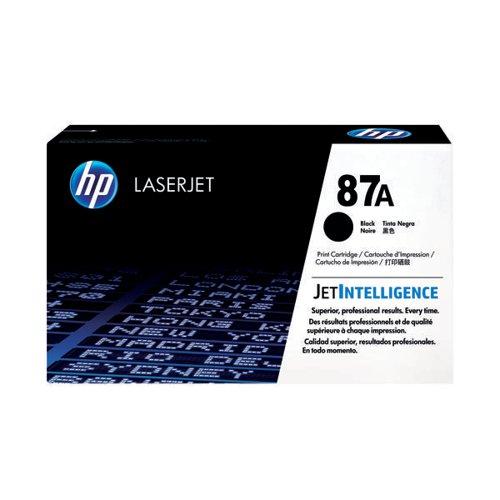 HP 87A Black Laserjet Toner Cartridge CF287A