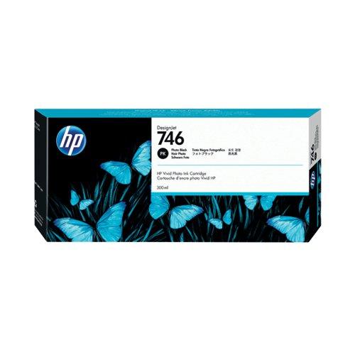 HP 746 300ml Photo Black Ink Cartridge P2V82A