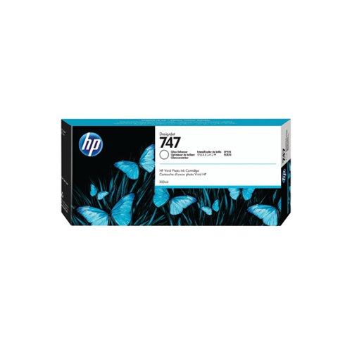 HP 747 300ml Gloss Enhancer Cartridge P2V87A