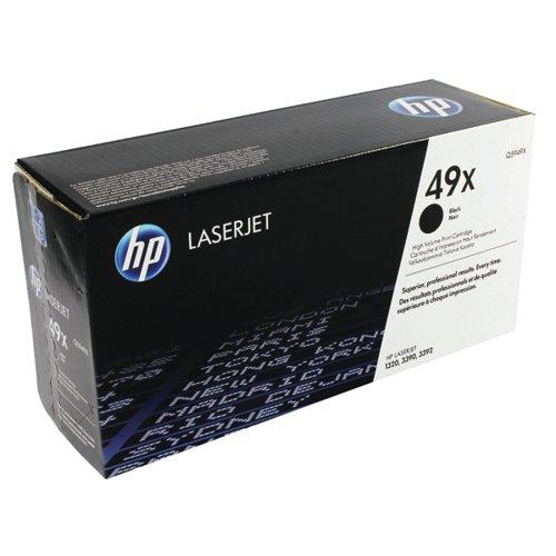 HP 49X Black High Capacity Laserjet Toner Cartridge Q5949X