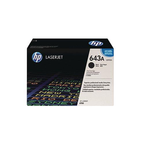 HP Q5950A 643A Black Toner 11K