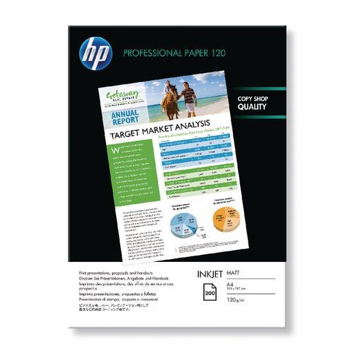 HP PRO MATTE A4 INKJET PAPER Q6593A