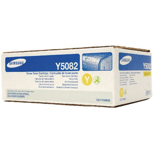 Samsung CLT Y5082S Yellow Toner 2K