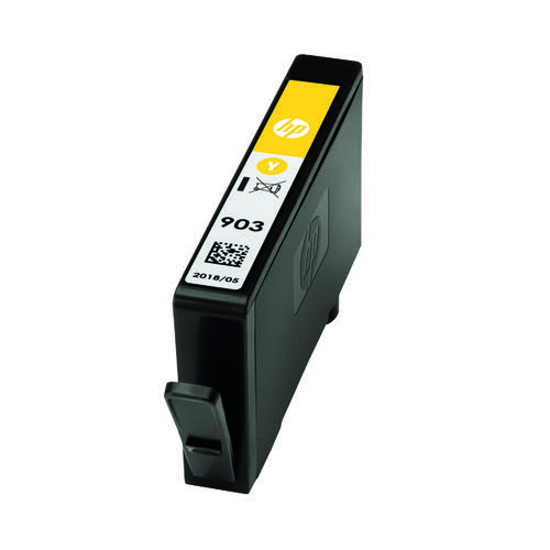 HP 903 Ink Yellow Cartridge (Standard Yield, 400 Page Capacity) T6L95AE