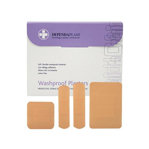 Reliance Dependaplast Washproof Plasters Assorted Size PK100