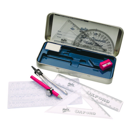 Helix Oxford Maths Set In Tin B43000