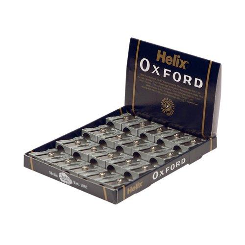 Helix Oxford Metal Pencil Sharpener (Pack of 20) Q01021