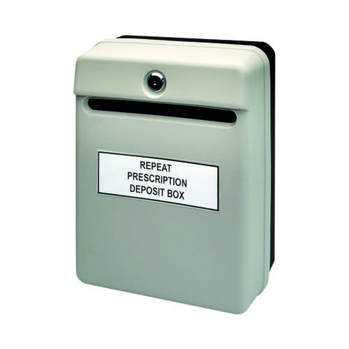 Helix Grey Posting Suggestion Box