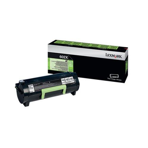 Lexmark 602X Black Extra High Yield Return Program Toner 60F2X00