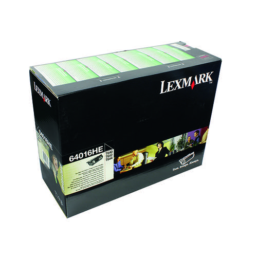 Lexmark High Yield Black Return Programme Toner Cartridge 0064016HE