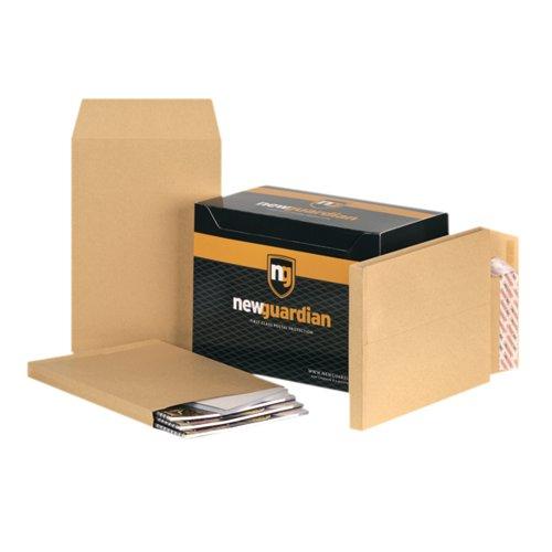 N/Gdn C4 Gusset Envelope P/Seal Pk100