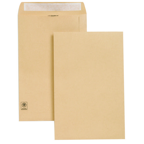 N/Gdn Manilla Envelope 353x229mm Pk250