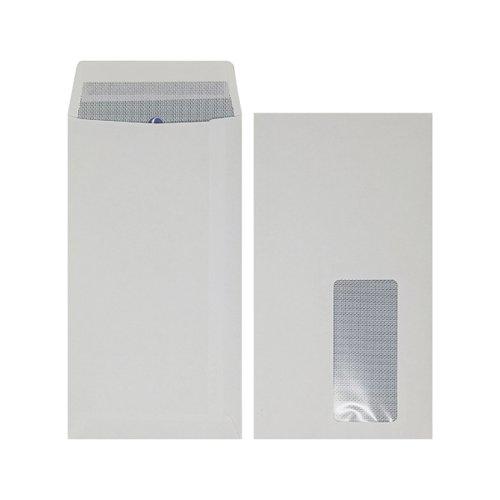 Plus Fabric DL Window Envelope Peel and Seal (Pack of 500) J26671