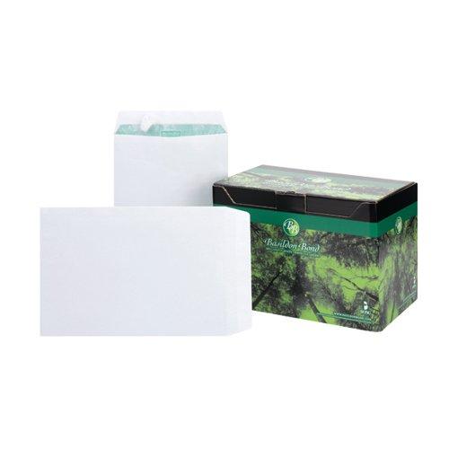 Basildon Bond C4 Pocket Envelope Plain White (Pack of 250) M80120