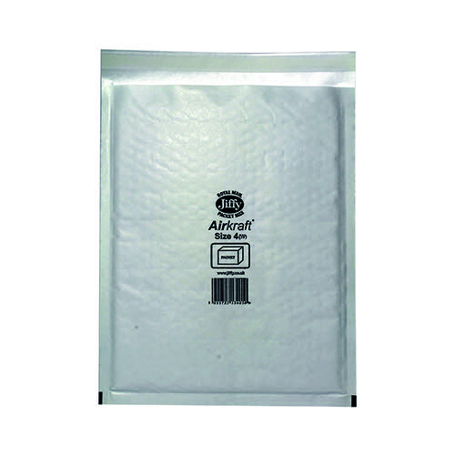 Jiffy AirKraft Bag Size 4 240x320mm White (Pack of 50) JL-4